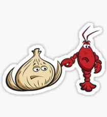 Lobster And Onions Sticker