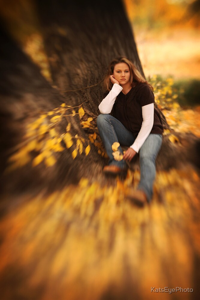 Mary in the fall 2 by KatsEyePhoto