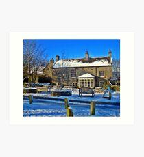 George Inn, Alstonefield Art Print