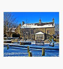 George Inn, Alstonefield Photographic Print