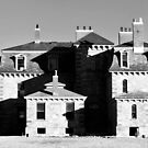 US - MA - Southborough - Burnett-Garfield House in black and white by renprovo