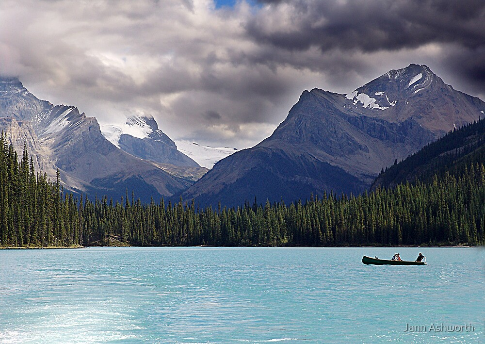 Canoeing In Paradise by Jann Ashworth