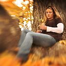 Mary in the fall 3 by KatsEyePhoto
