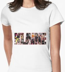 #Klaine Womens Fitted T-Shirt