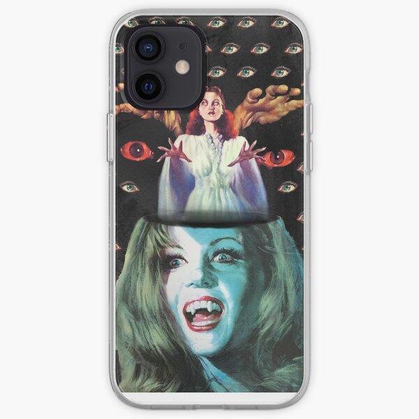 Vampire eyes iPhone Soft Case