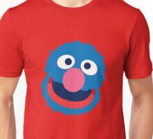 Grover head geek funny nerd Unisex T-Shirt