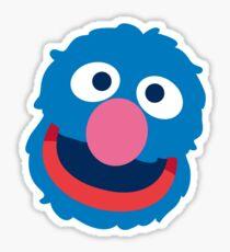 Grover head geek funny nerd Sticker