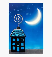 Night House Photographic Print