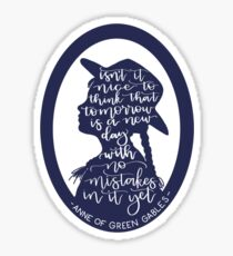 Anne of Green Gables Design Sticker