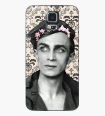 Conrad Veidt Flower Crown Case/Skin for Samsung Galaxy