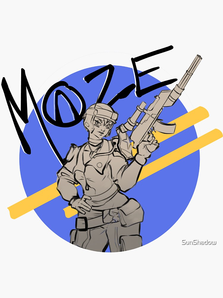 The Gunner: Moze by SunShadow