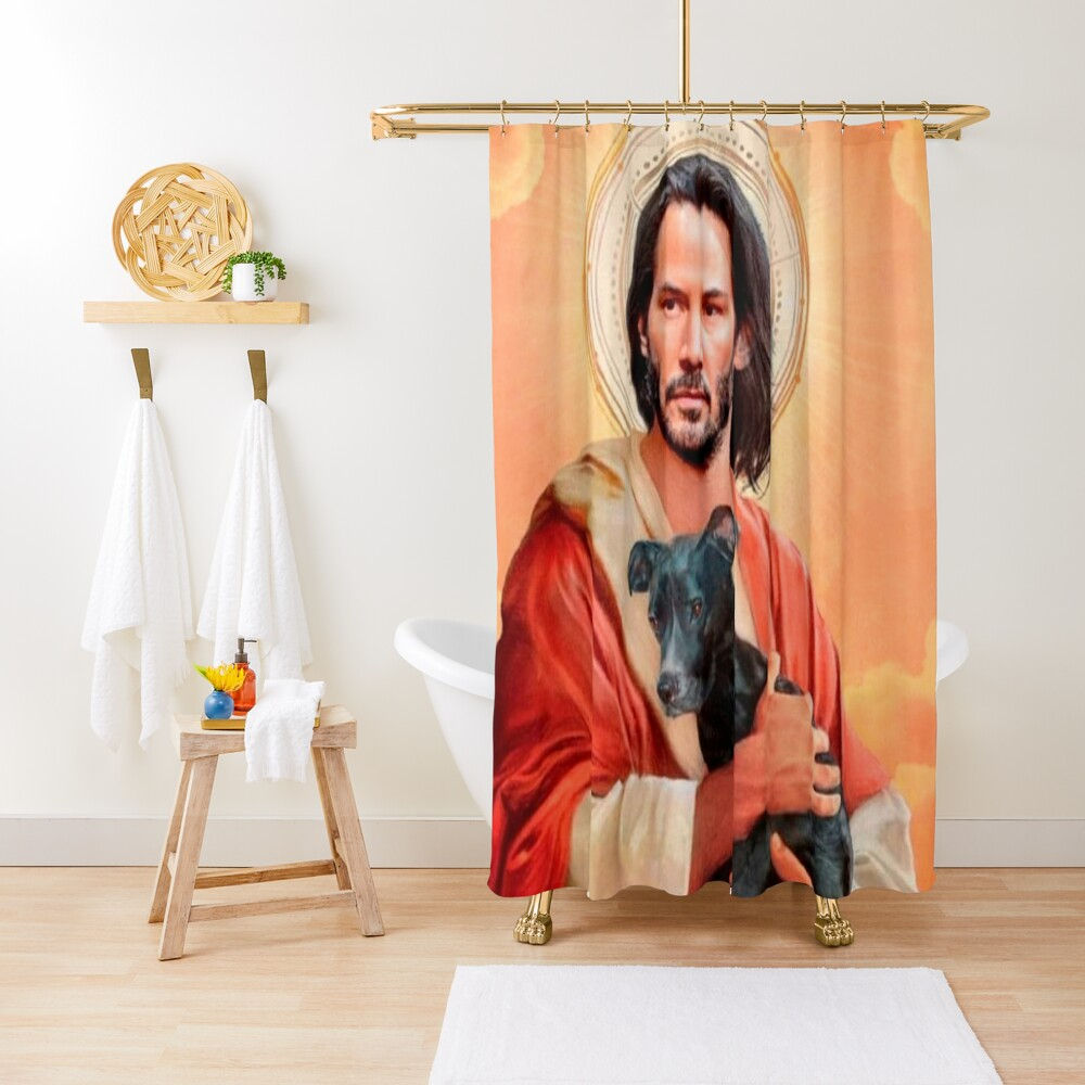 The Immortal Shower Curtain