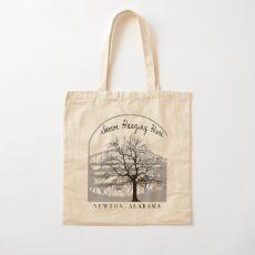 Haunted Sketoe Hanging Hole Cotton Tote Bag
