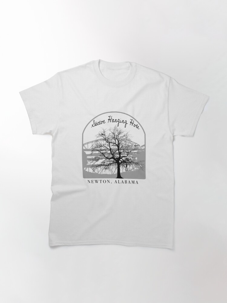 Alternate view of Haunted Sketoe Hanging Hole Classic T-Shirt