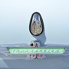 '57 T-Bird Emblem by Wviolet28