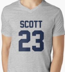 3dcfcb7ad One Tree Hill - Nathan s Jersey Men s V-Neck ...