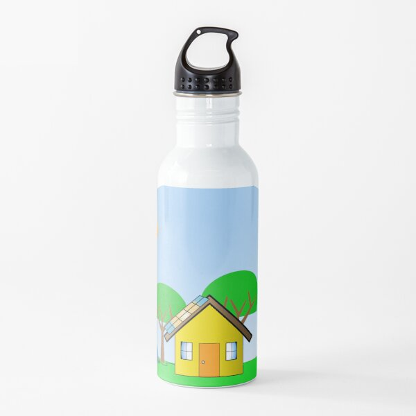 Clean Energy Snow Globe Water Bottle