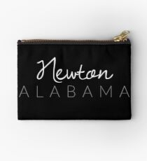 Newton, Alabama Zipper Pouch