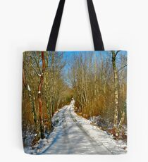 Dance of the Silver Birches III Tote Bag