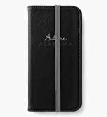 Auburn, Alabama iPhone Wallet/Case/Skin