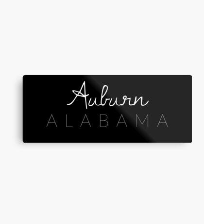 Auburn, Alabama Metal Print