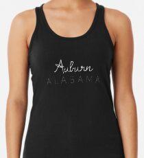 Auburn, Alabama Racerback Tank Top