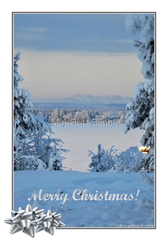 Merry Christmas - card7  :-) by Maj-Britt Simble