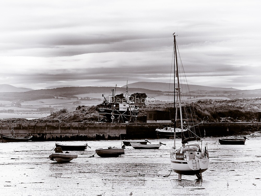 Boats in the Harbour by DeePhoto