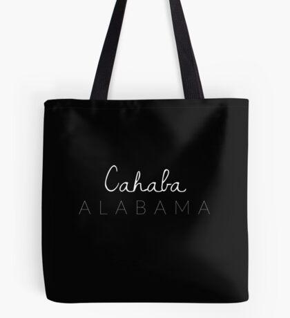Cahaba, Alabama Tote Bag