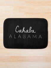 Cahaba, Alabama Bath Mat