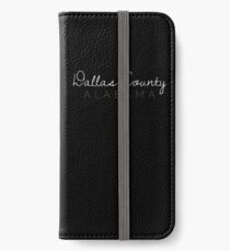 Dallas County, Alabama iPhone Wallet/Case/Skin