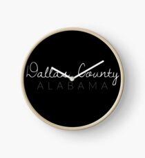Dallas County, Alabama Clock