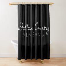 Dallas County, Alabama Shower Curtain