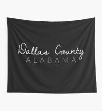Dallas County, Alabama Wall Tapestry