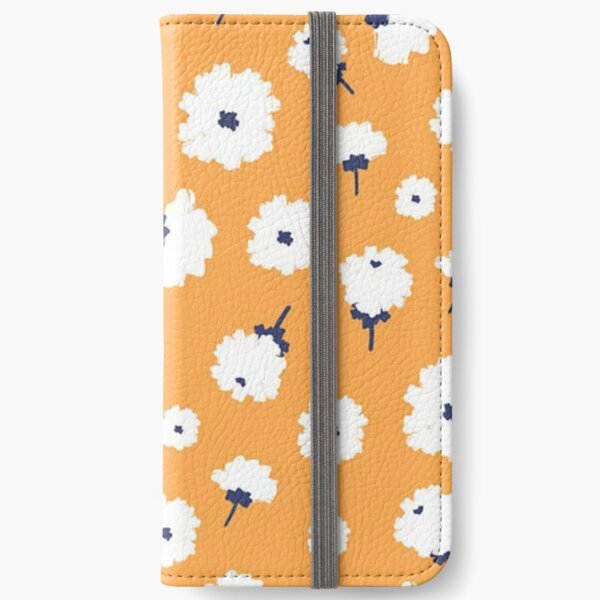 Abstract Zinnias iPhone Wallet
