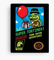 SUPER TORTIMER! Canvas Print