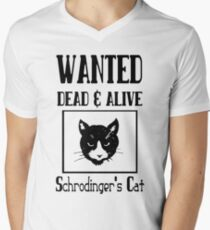Wanted schrodingers cat geek funny nerd T-Shirt