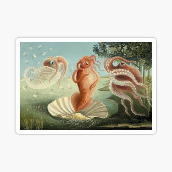The Birth of Squid Sticker