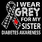 Wear Grey Diabetes Awareness von mjacobp