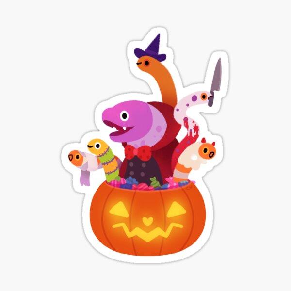 Spooky eels Sticker