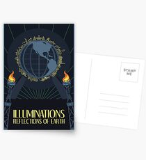 Illuminations - Reflections of Earth Postcards