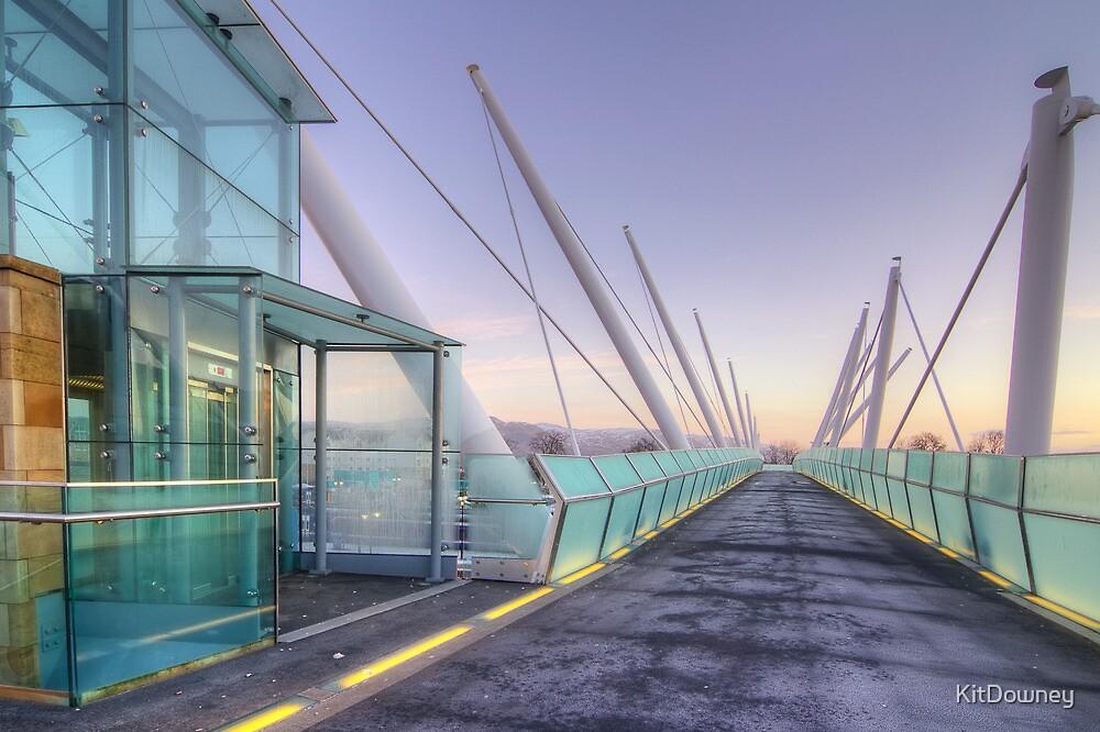 Forthside Bridge Stirling  by KitDowney