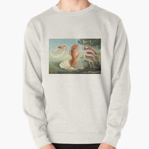 The Birth of Squid Pullover Sweatshirt