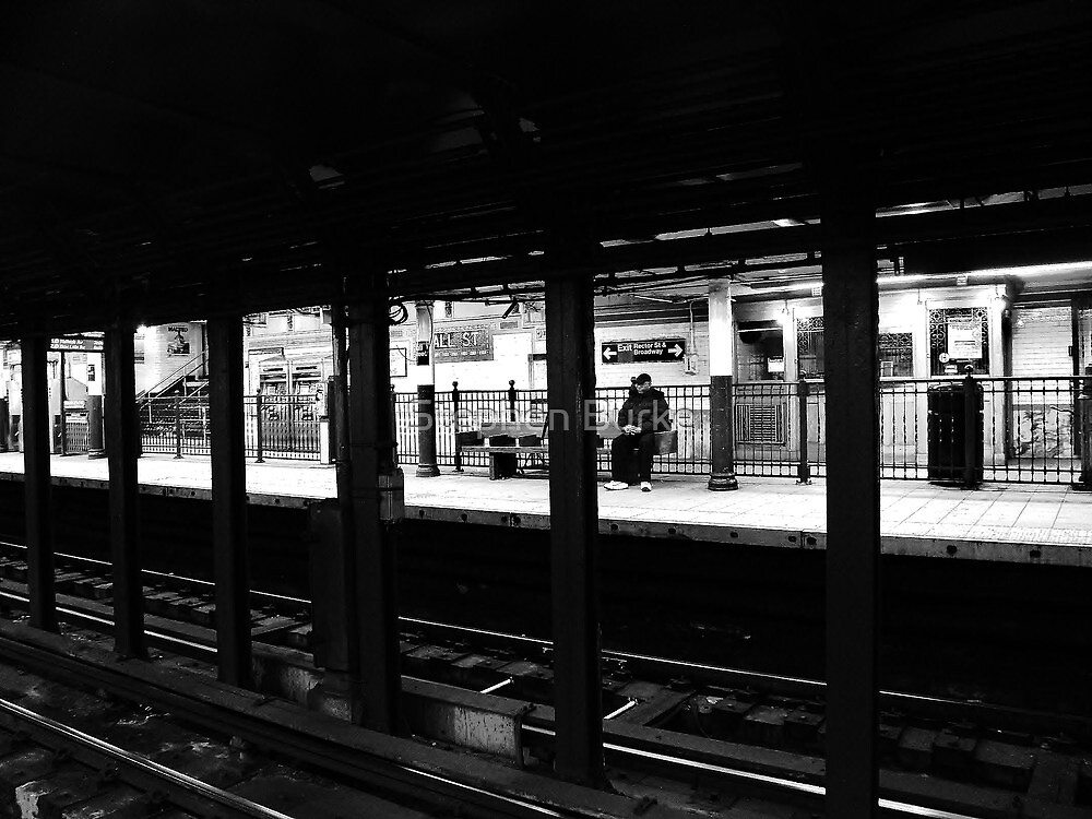 New York City Commuter by Stephen Burke