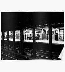 New York City Commuter Poster