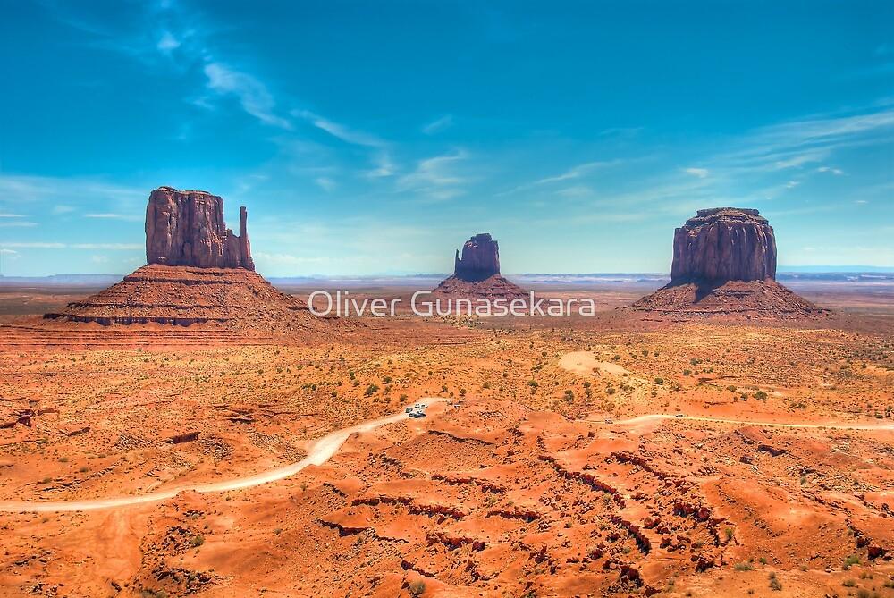 Monument Valley by Oliver Gunasekara