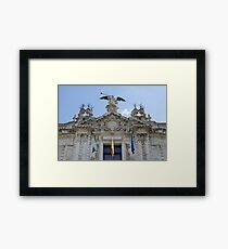 Architecture in Seville, Spain - Real Fábrica de Tabacos Framed Print
