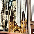Brisbane reflection by hans p olsen