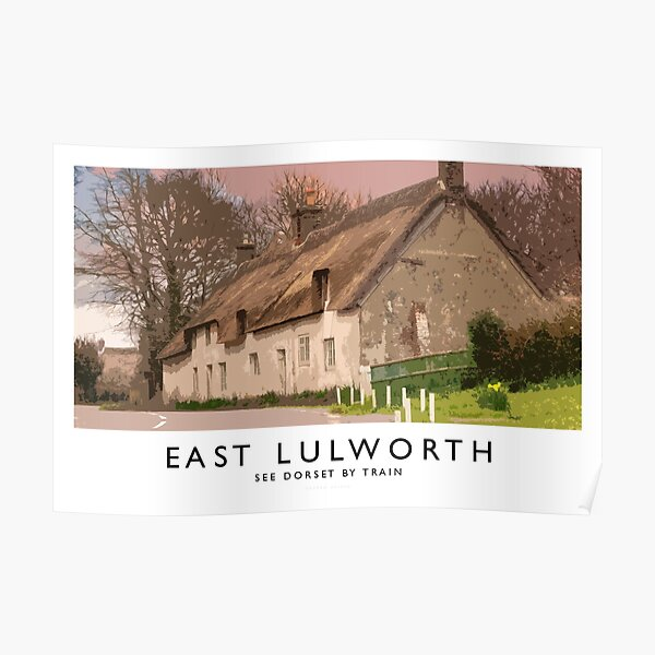 East Lulworth (Railway Poster) Poster