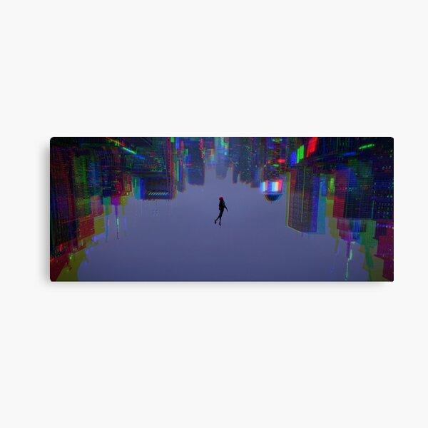 Miles - Falling Down - Trippy Canvas Print